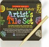 Artist's Tiles: Scratch & Sketch (Studio Series)