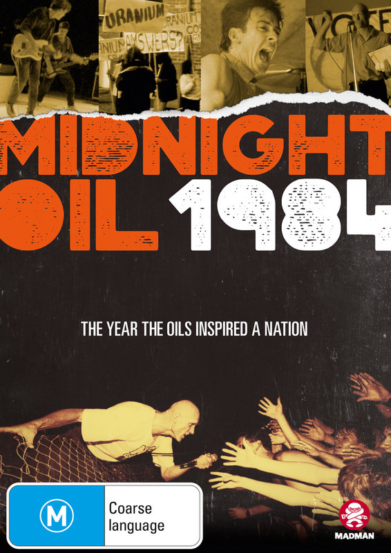 Midnight Oil 1984 on DVD