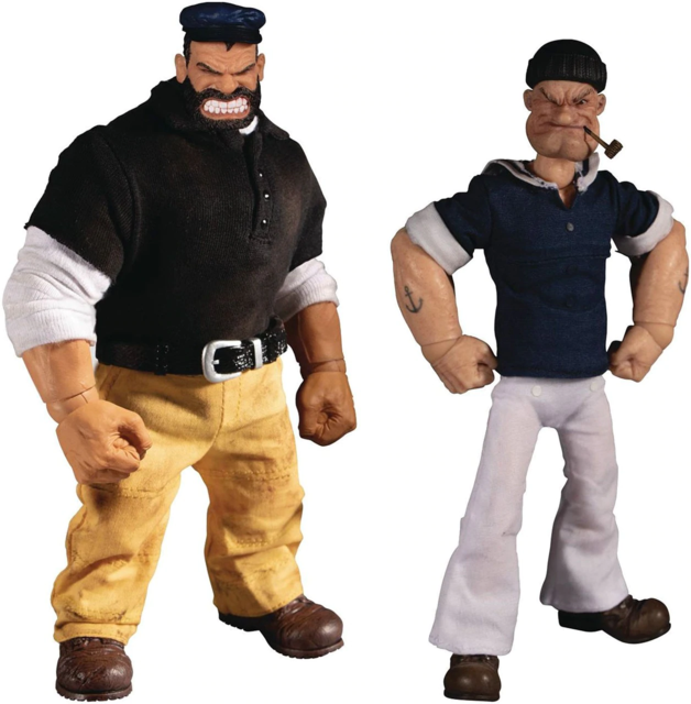 Popeye & Bluto: Stormy Seas Ahead - One:12 Collective Figure Set