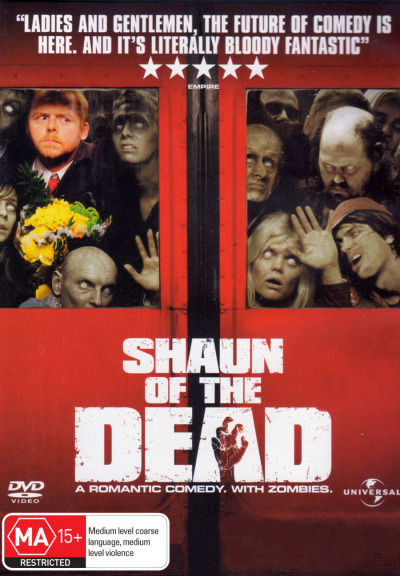 Shaun of the Dead on DVD image