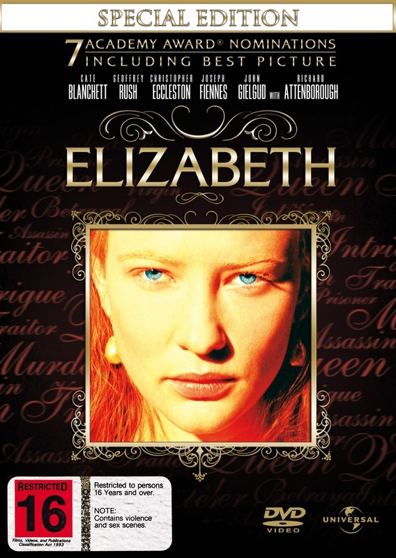Elizabeth - Special Edition on DVD