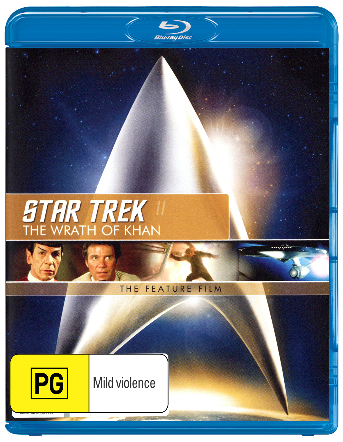 Star Trek II: The Wrath of Khan - The Feature Film on Blu-ray image