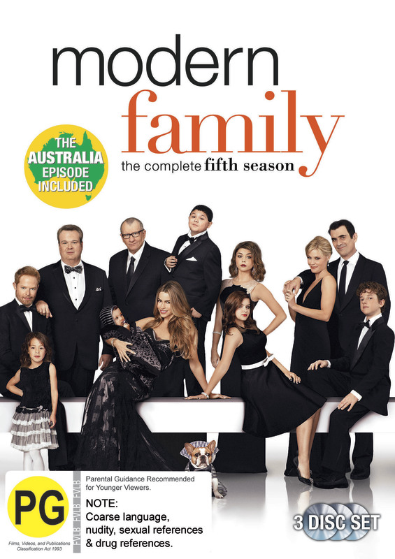 Modern Family: Season 5 on DVD