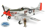 Tamiya 1:32 North American P-51D Mustang -Silver Color Plated