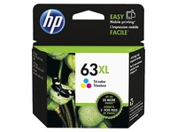 HP 63XL Ink Cartridge F6U63AA - High Yield (Tri-Color)