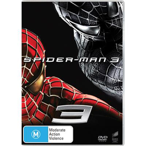 Spider-Man 3 on DVD image