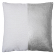 Bambury Block Cushion (Silver)