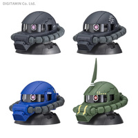 Mobile Suits Gundam Exceed Model Zaku Head Vol.4