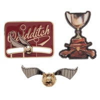 Harry Potter: Quidditch - Boxed Lapel Pin Set