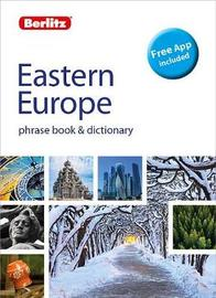 Berlitz Phrase Book & Dictionary Eastern Europe by APA Publications Limited