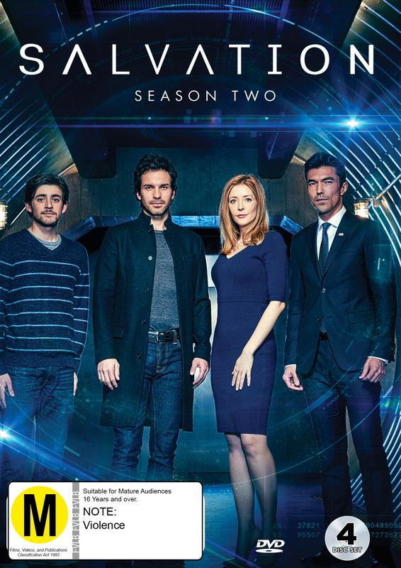 Salvation: Season Two on DVD