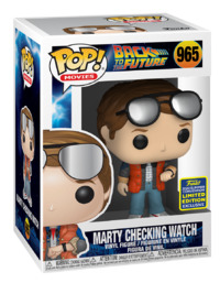 Back to the Future: Marty McFly (Checking Watch) - Pop! Vinyl Figure image