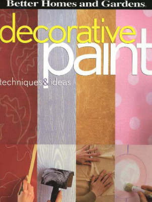 Decorative Paint: Techniques and Ideas by Cathy Long