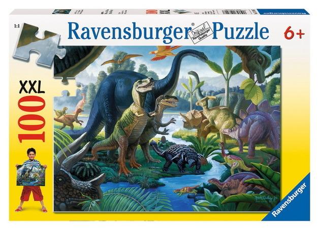 Ravensburger 100 Piece Jigsaw Puzzle - Land of Giants