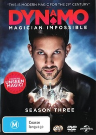 Dynamo: Magician Impossible - Season Three on DVD