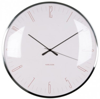 Karlsson Wall Clock - Dragonfly: Pink