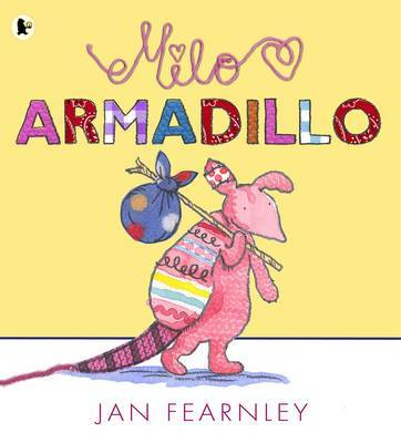 Milo Armadillo by Jan Fearnley image