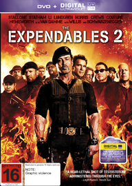 Expendables 2 on DVD