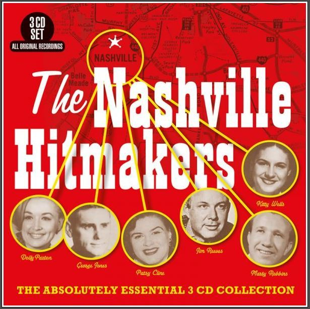 The Nashville Hitmakers by Various Artists
