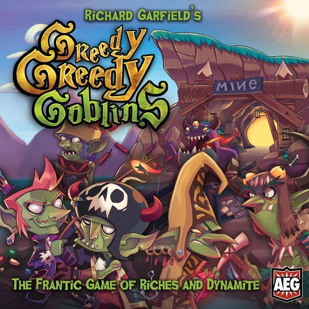 Greedy Greedy Goblins - Board Game