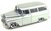 Jada: 1/24 57' Chev Suburban (Silver) – Diecast Model