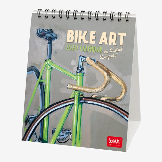Legami: Bike Art 2020 Desk Calendar