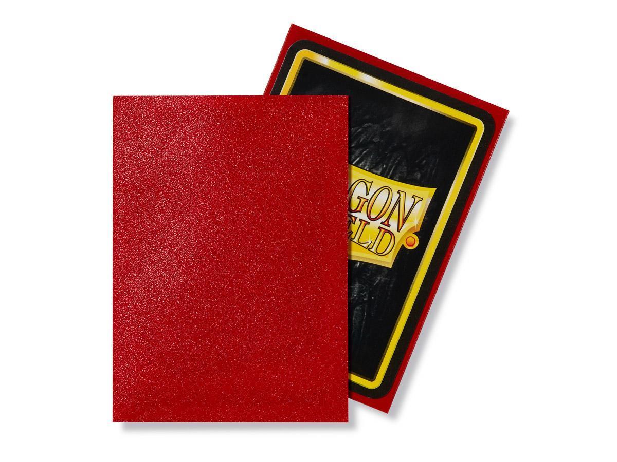 Dragon Shield Matte Ruby Card Sleeves image