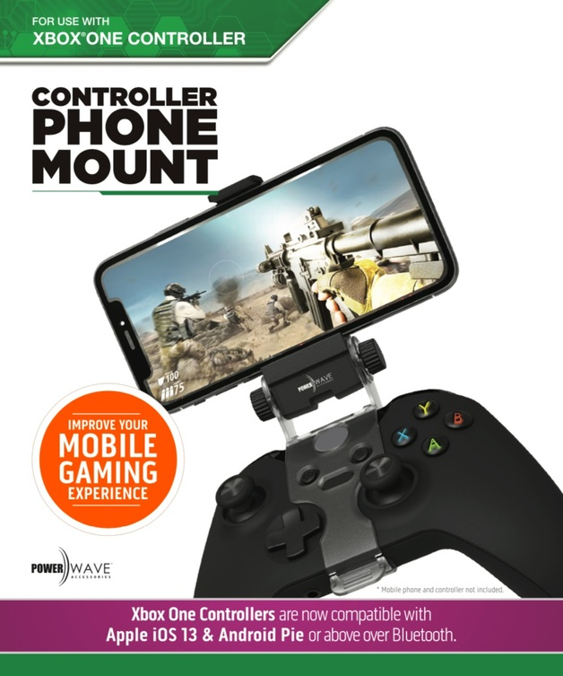 Powerwave Xbox One Controller Phone Mount for Xbox One