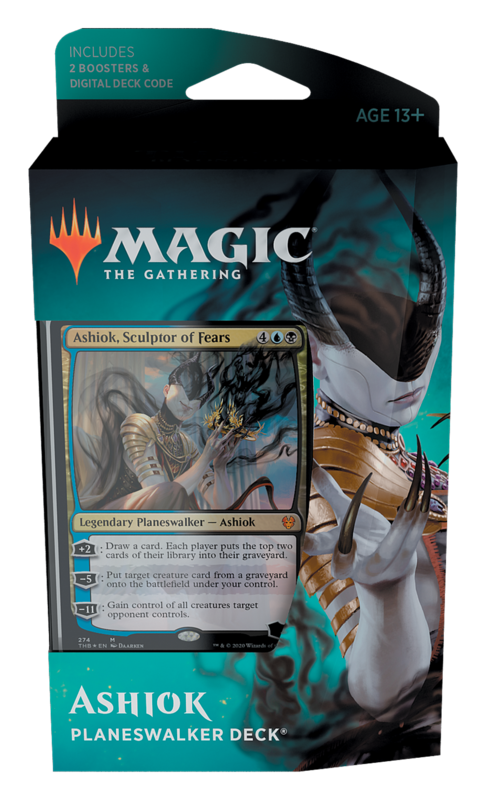 Magic The Gathering: Theros Beyond Death Planeswalker Deck- Ashiok