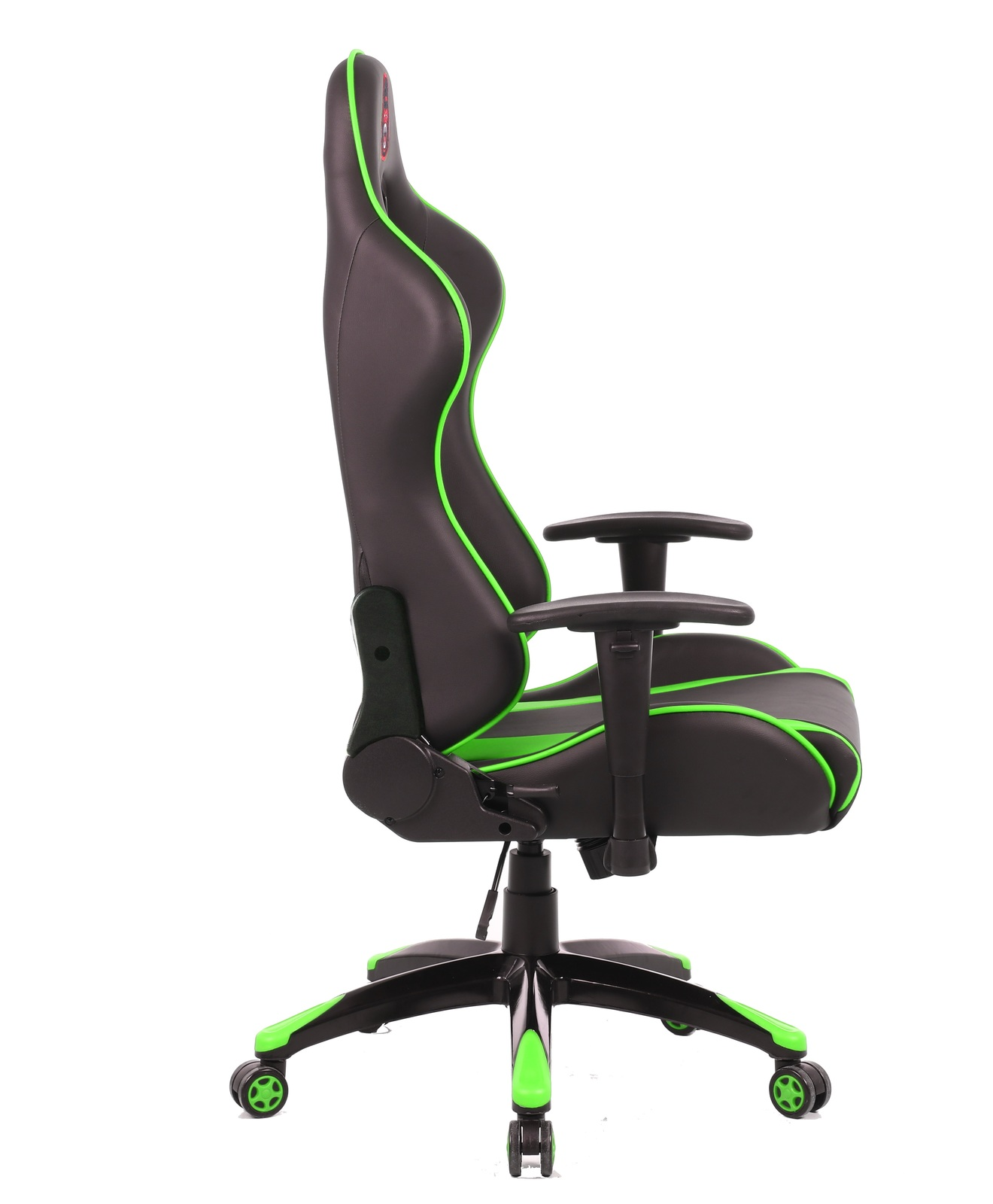 Gorilla Gaming Commander Chair - Green & Black for  image