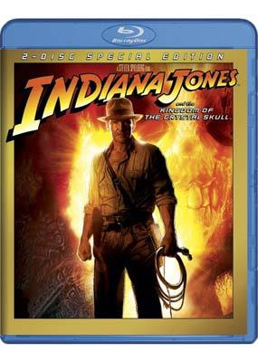 Indiana Jones and the Kingdom of the Crystal Skull on Blu-ray
