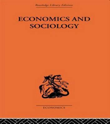 Economics and Sociology by Adolf Lowe