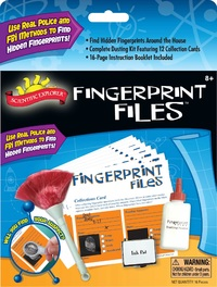 Scientific Explorer: Fingerprint Files Discovery Kit