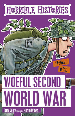 Woeful Second World War by Terry Deary image