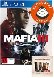 Mafia III for PS4
