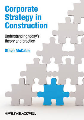 Corporate Strategy in Construction by Steven McCabe image