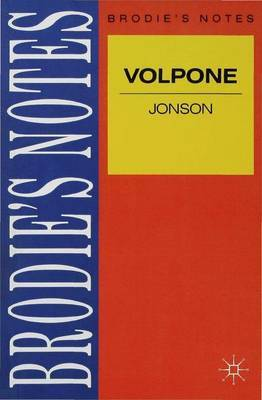 Jonson: Volpone by Ray Wilkinson image