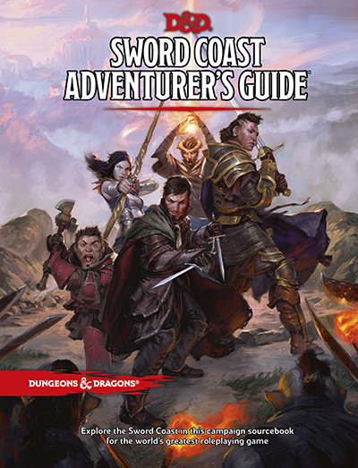 Dungeons & Dragons: Sword Coast Adventurer's Guide by Wizards RPG Team image