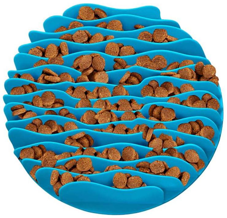Fun Feeder Mat Regular (Teal) image