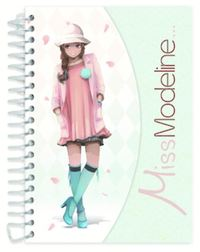 Miss Modeline A6 Notepad and Design Book - Leila image