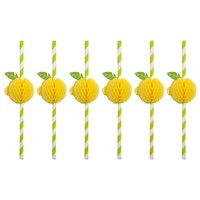 Sunnylife Straws Lemon