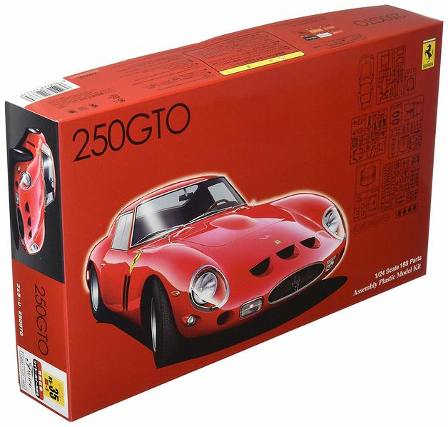 Fujimi: 1/24 Ferrari 250GTO Special Version (with Wire Wheel) - Model Kit