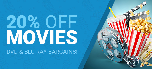 20% off Movies!