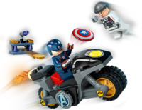 LEGO Marvel: Captain America and Hydra Face-Off - (76189)
