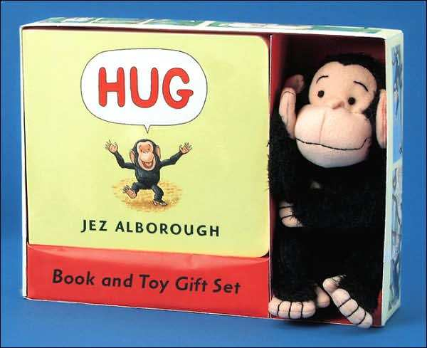 Hug Gift Set: Board book + Toy by Jez Alborough image