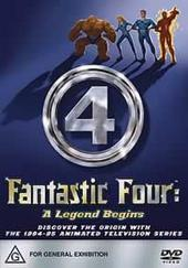 Fantastic Four - A Legend Begins (Animated) on DVD