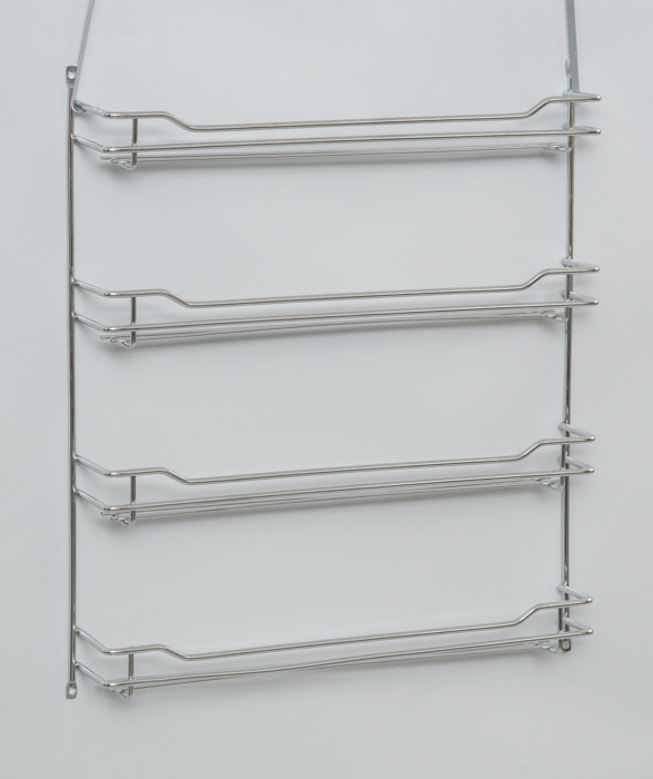 L.T. Williams - Wide Chrome 4 Tier Spice Rack