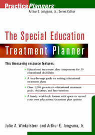 The Special Education Treatment Planner by Arthur E. Jongsma image