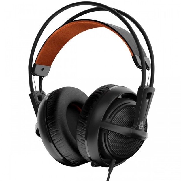 SteelSeries Siberia 200 Headset - Black for PS4