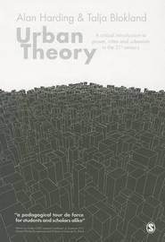 Urban Theory by Alan Harding